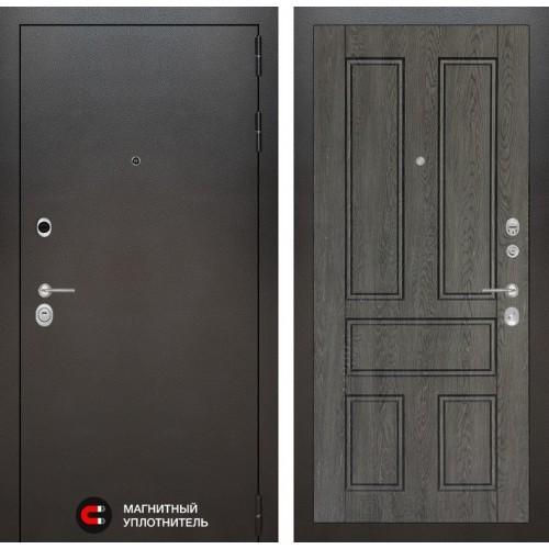 Входная дверь Сильвер 10 - Дуб филадельфия графит