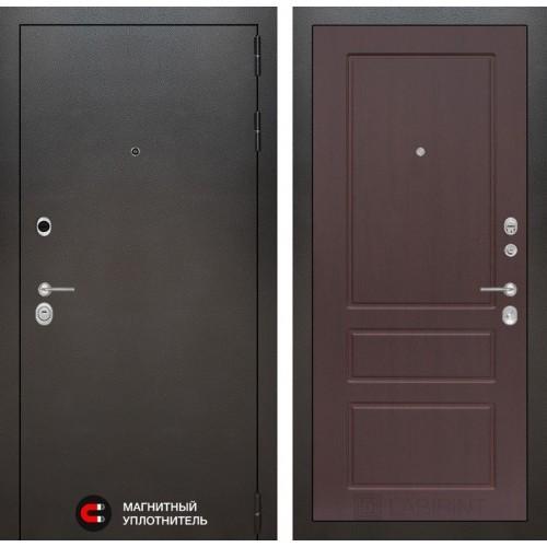 Входная дверь SILVER 03 - Орех премиум