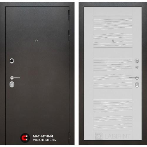 Входная дверь SILVER 06 - Белое дерево