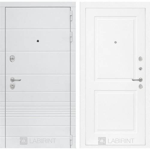 Входная дверь Трендо 11 - Белый софт