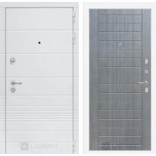 Входная дверь Трендо 09 - Лен сильвер грей