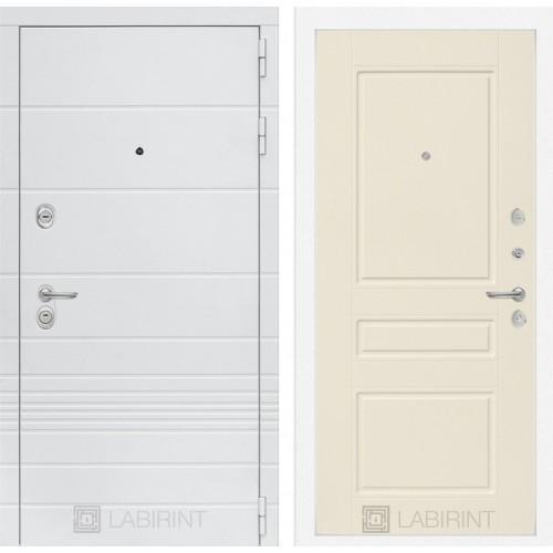 Входная дверь Трендо 03 - Крем софт