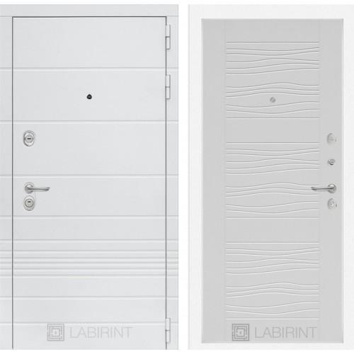 Входная дверь Трендо 06 - Белое дерево