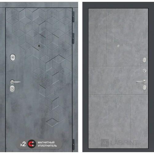 Входная дверь Термо Магнит 14 - Дуб кантри белый горизонтальный