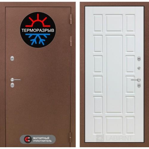Входная дверь Термо Магнит 12 - Белое дерево