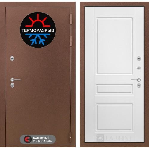 Входная дверь Термо Магнит 03 - Белый софт