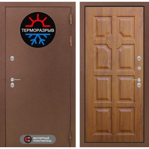 Входная дверь Термо Магнит 17 - Золотой дуб