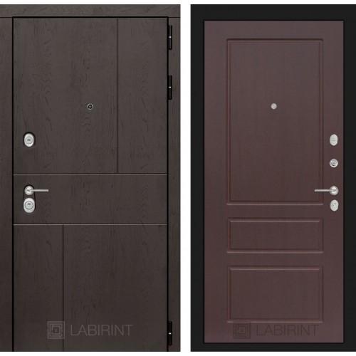 Входная дверь URBAN 03 - Орех премиум