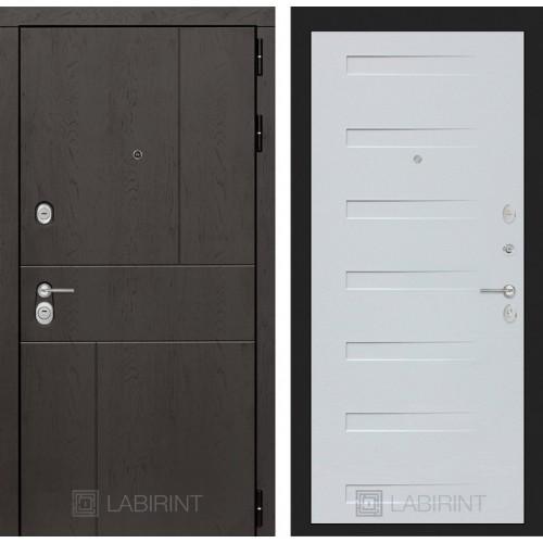 Входная дверь URBAN 14 - Дуб кантри белый горизонтальный