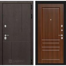 Входная дверь URBAN 03 - Орех бренди