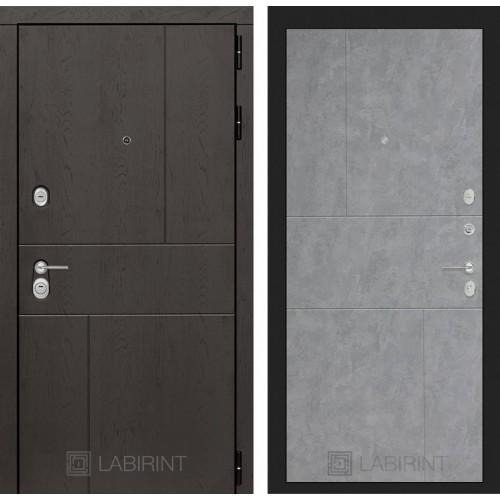 Входная дверь URBAN 21 - Бетон светлый