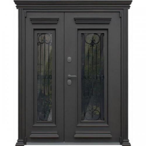 Входная дверь - АСД «Grand Lux» двустворчатая (заказная)
