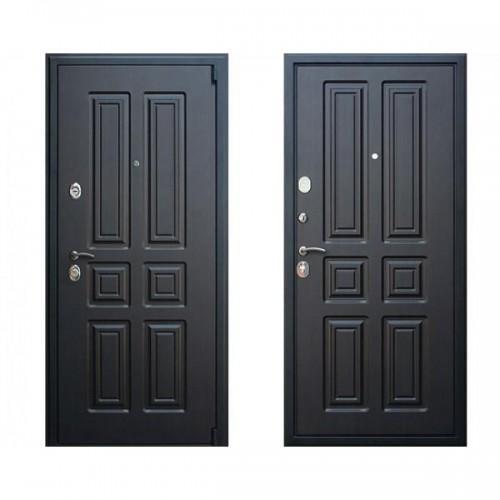 Входная дверь - АСД (3-к) Атлант венге/венге