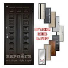 Входная дверь - Берлога 3К 2П Сенатор (панель на выбор)