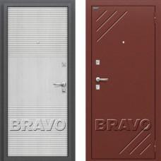 Входная дверь -  Стандарт Л-12 (МиланОрех)