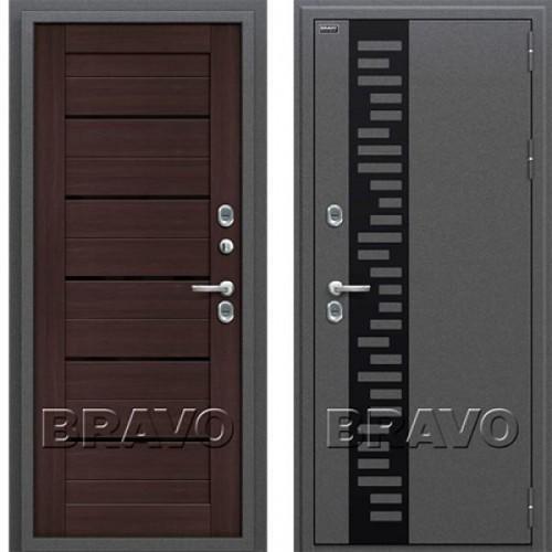 Входная дверь - Термо 222 Wenge Veralinga/Black Star