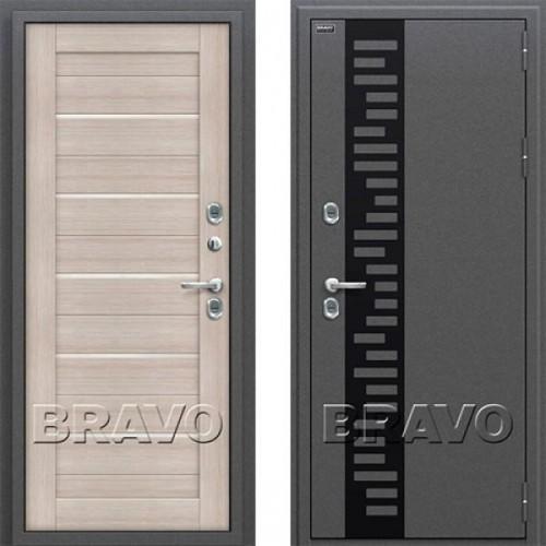 Входная дверь - Термо 222 Cappuccino Veralinga/White Pearl