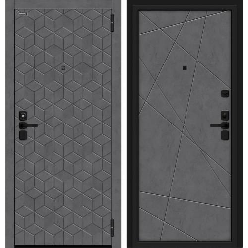 Входная дверь Кьюб Лунный камень/Slate Art