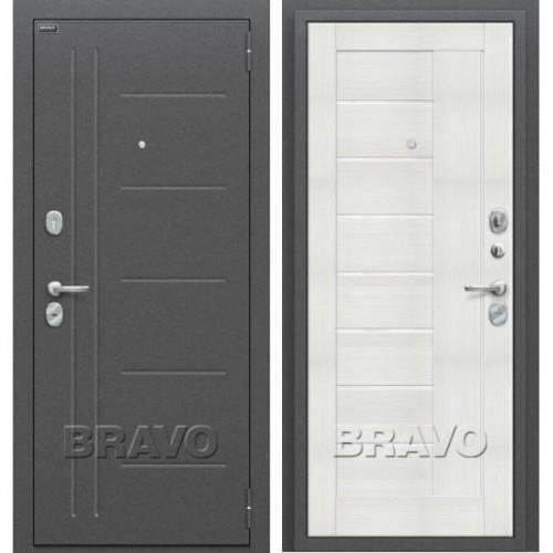 Входная дверь - Проф Антик Серебро/Bianco Veralinga