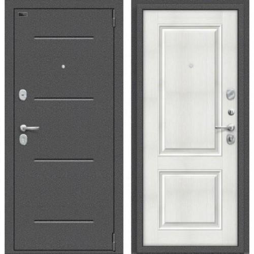 Входная дверь - Porta S 104.К32 Антик Серебро/Bianco Veralinga