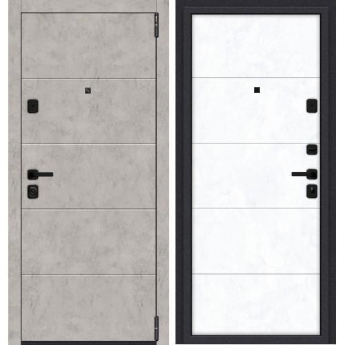 Входная дверь Porta M 4.4 Grey Art/Snow Art