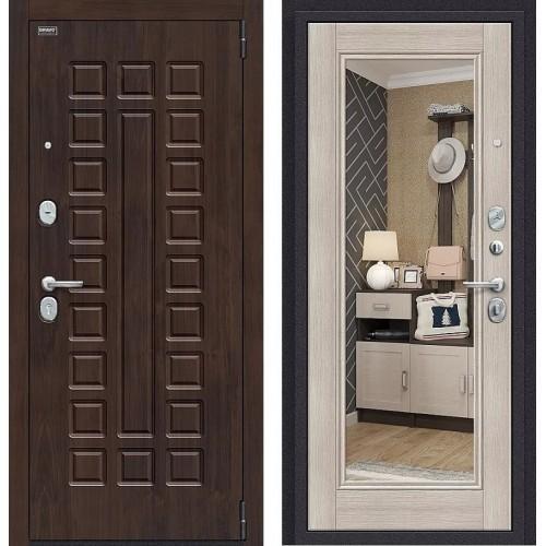 Входная дверь - Урбан NEW П-28 (Темная Вишня)/Cappuccino Veralinga