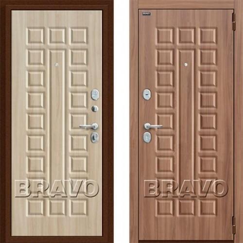Входная дверь - Твин П-35 (Шимо Темный)/П-34 (Шимо Светлый)