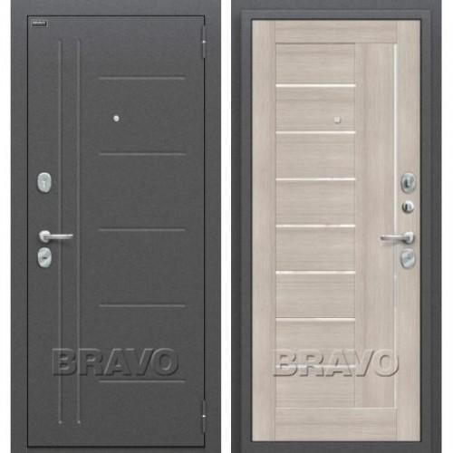 Входная дверь - Проф Антик Серебро/Cappuccino Veralinga