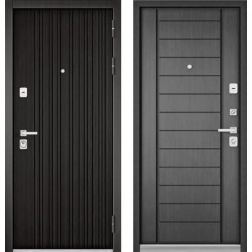 Входная дверь - PREMIUM 90 (ЛАРЧЕ ТЕМНЫЙ 9Р-131/ Дуб серый 9Р-137)