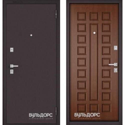 Входная дверь - МАSS -70 Букле шоколад/ Дуб золотой М-110