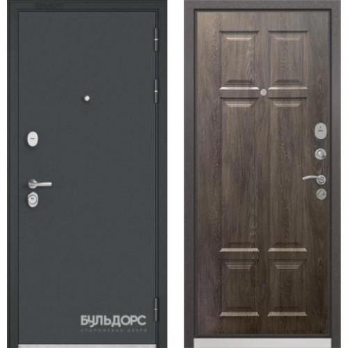 Входная дверь - Бульдорс STANDART 90 Чёрный шелк, Цвет