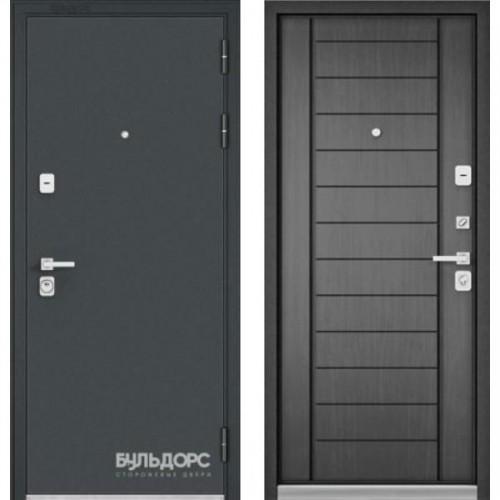 Входная дверь - PREMIUM 90 Черный шелк /Дуб серый 9Р-137