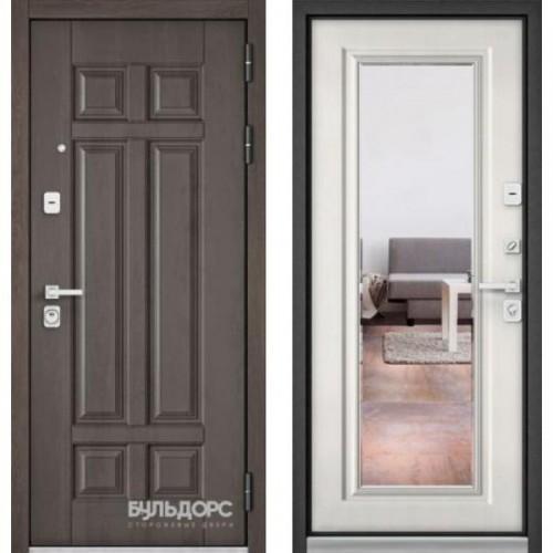 Входная дверь - Бульдорс PREMIUM 90 Дуб шале серебро 9Р-115 /Шамбори светлый9S-140