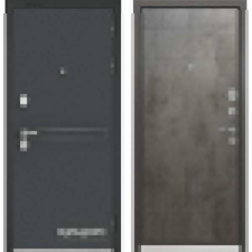 Входная дверь - Бульдорс STANDART 90 Чёрный шелк D-4, Цвет