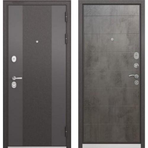 Входная дверь - Бульдорс STANDART 90 Чёрный шелк 9К-4, Цвет