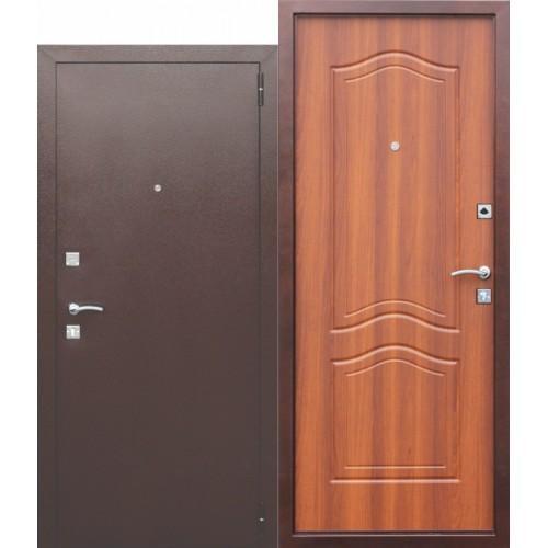 Входная дверь - Dominanta Рустикальный дуб
