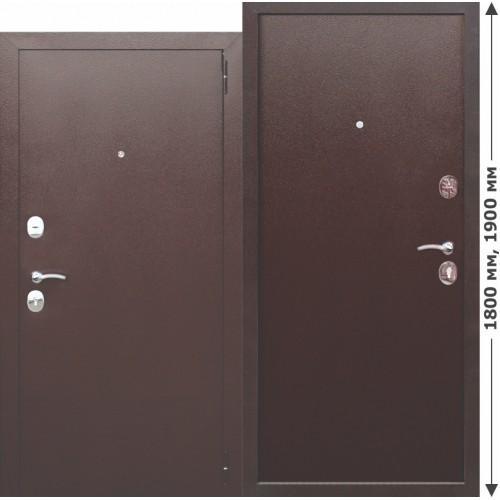 Входная дверь - GARDA mini Металл/Металл