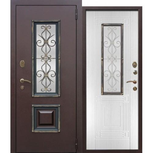 Входная дверь - Венеция Белый Ясень