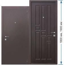 Входная дверь - Гарда mini Венге высота 1900 / 1800 мм