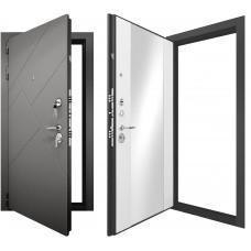 Входная дверь - Гранит Ультра C3 Зеркало