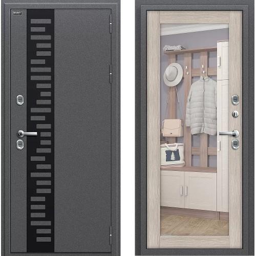 Входная дверь - Термо 220 Антик Серебро/Cappuccino Veralinga