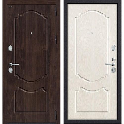 Входная дверь - GROFF Р3-310 П-28 (Темная Вишня)/П-25 (Беленый Дуб)