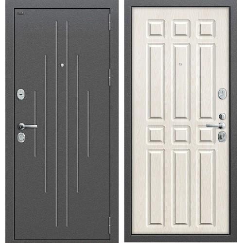 Входная дверь - GROFF P2-215 П-25 Беленый Дуб