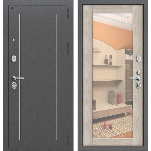 Входная дверь - GROFF Т2-220_New Антик Серебр/Cappuccino Veralinga