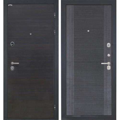 Входная дверь - Сицилия Kvadro шпон Эвкалипт soft touch