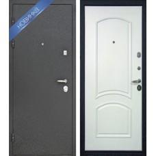 Входная дверь - Интекрон Персей 3D-5 Белое серебро