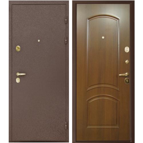 Входная дверь - Интекрон Тезей 3D5 Итальянский орех