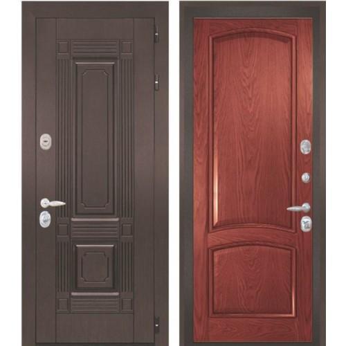 Входная дверь - Интекрон Италия-3 шпон красное дерево