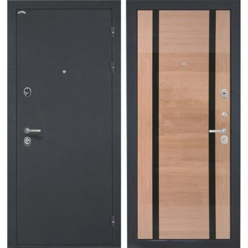 Входная дверь - Венеция Spacia 2 шпон беленый дуб глянец