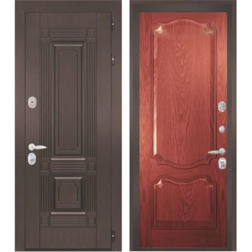 Входная дверь - Интекрон Италия-2 шпон красное дерево